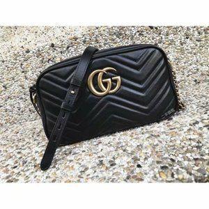 NWT Gucci Marmont Matelasse shoulder bags shete